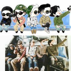 this is super extra cute Seungri, Gd Bigbang, Bigbang G Dragon, Big Bang Memes, Big Bang Kpop, Bang Bang, Yg Entertainment, Bts Memes, G Dragon Cute