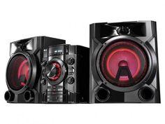 Mini System LG 620W RMS MP3 Karaokê USB - CM5660 com as melhores condições você encontra no Magazine Jsantos. Confira!
