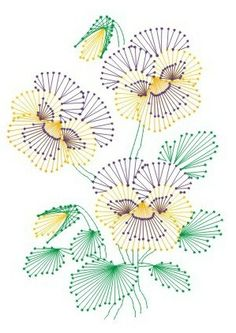 Paper Embroidery Patterns free pricking patterns for cards Embroidery Cards, Embroidery Transfers, Embroidery Patterns Free, Learn Embroidery, Card Patterns, Embroidery Designs, Embroidery Stitches, Embroidery Tattoo, Chinese Embroidery