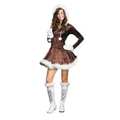 eskimo cutie pie junior extra halloween costume for teen girls extra small