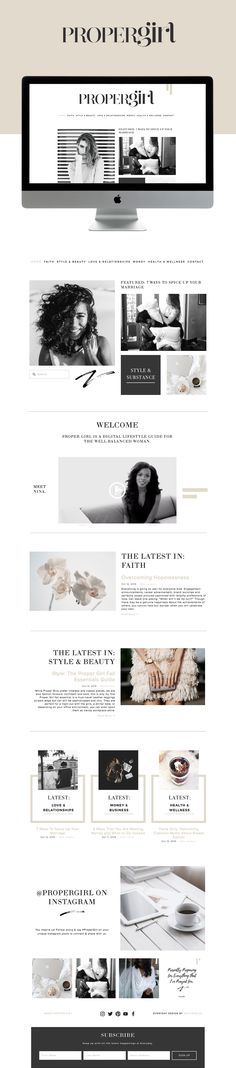 Web design layout inspiration on Squarespace Layout Design, Diy Design, Custom Web Design, Design Ideas, Website Design Inspiration, Simple Website Design, Fashion Inspiration, Layout Inspiration, Website Layout
