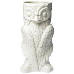 Two's Company Owl Umbrella Stand/Vase - Ceramic