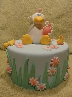 spring chicken cake