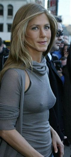 Jennifer Aniston. It's getting a bit nippy outside. Sal P