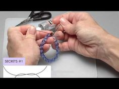 Video Tutorial - Secret to a Surgeon's Knot - Fire Mountain Gems and Beads