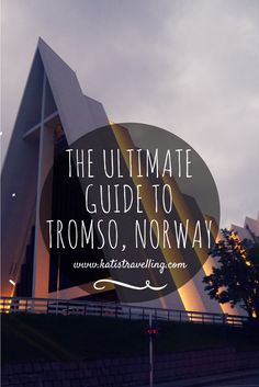 Home to some of the most exciting history and natural wonders in Europe, Tromso in Norway& arctic circle, is a must-visit destination. Tromso, Europe Travel Tips, Travel Guides, Places To Travel, Travel Destinations, Travelling Europe, Norway Tours, Norway Travel, Voyage Suede