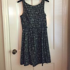 Forever 21 Black and White Dress Forever 21 black and white dress.  Size XS.  Looks great with a wide belt Forever 21 Dresses