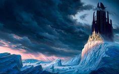 fantasy vacher background christophe art scenery