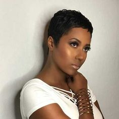 Short Pixie Haircuts, Pixie Hairstyles, Straight Hairstyles, African Hairstyles, Black Pixie Haircut, Pixie Bob, Women Pixie Cut, Best Pixie Cuts, Blonde Pixie