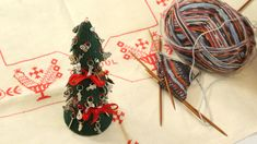 Designers, textile artists and authors, known for their craft books and their original and visually striking designs. Arne And Carlos, Wire Ornaments, Tabletop Christmas Tree, Textile Artists, Book Crafts, Textiles, Knitting, Fiber, Crochet