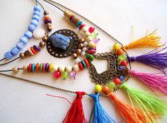 Eteniske - colorful bohemian jewelry