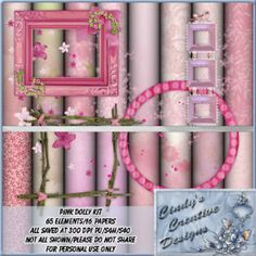 Pink Dolly - Tagger Kit [CCD Pink Dolly] - $1.25 : LowBudgetScrapping