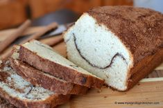 Cinnamon Sweet Bread is an easy-to-make quick bread made with standard pantry ingredients. Perfect for coffeebreaks and bread freezes well.