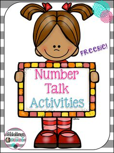 Hi all! Today I want to chat with you about Number Talks! *Stay with me for a freebie at the end!* Last summer, I participat...