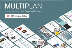 MultiPlan PowerPoint Presentation Template reduces your work by supplying templates designed with busy entrepreneurs in mind. With 196 fully editable slides, the Pitch Deck Bundle provides you with the template you need to deliver a strong...