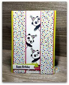 Peekaboo Party Pandas