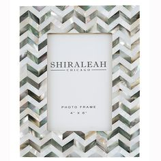 Shiraleah Griggio Mother of Pearl Frame – Studio West Interiors
