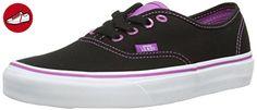 Vans AUTHENTIC, Unisex-Erwachsene Sneakers, Schwarz ((ClearEylts)Blk FC6), 41 EU (*Partner-Link)
