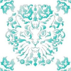 Shop the world's largest marketplace of independent surface designers - Spoonflower Vintage Bathroom Vanities, Blue Yellow, Teal, Surface Design, Damask, Spoonflower, Paisley, Designers, Shop