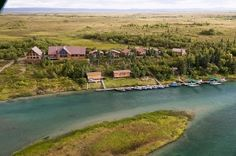 The Alaska Sportsman's Lodge, Kvivhak River-Lake Iliamna, AK.  Such an amazing and beautiful place!