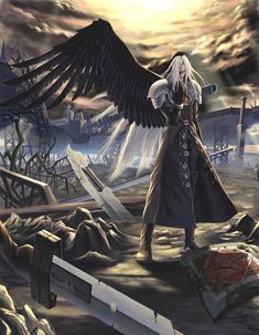 Sephiroth by diamond dust - Final Fantasy VII