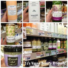 Trader Joe's vegan beauty products--- I'm excited about the trader Joe's that will be coming to south Florida soon!