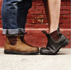 Blundstones <3 - in gray and black