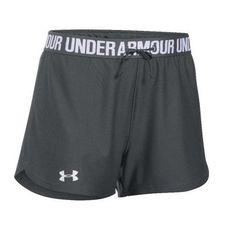 "Under Armour Women/'s UA 3/"" Running Shorts Size Medium Black Blue 1293874 New"