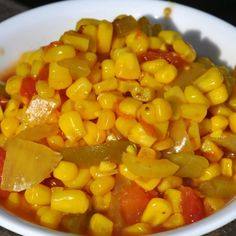 Corn Relish – Respectin' The Old Ways - Southern Plate Healthy Food List, Healthy Recipes, Rice Recipes, Corn Relish Recipes, Canning Food Preservation, Preserving Food, Canning Recipes, Canning Corn, Fruits And Veggies