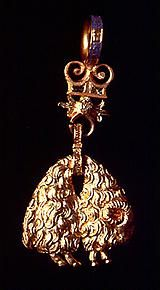 Golden Fleece Order, badge belonged to Vespasiano I Gonzaga (1531-1591)