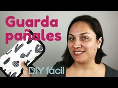 Guardapañales fácil DIY - YouTube Ideas Para, Purses And Bags, Videos, Acupuncture, Tips, Scrappy Quilts, Step By Step, Vestidos, Baby Things