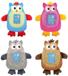 Hot Water Bottle with Owl Design Plush Cover  Price : £8.99 http://www.hotwaterbottleideas.co.uk/Water-Bottle-Design-Plush-Cover/dp/B009JT4CDE