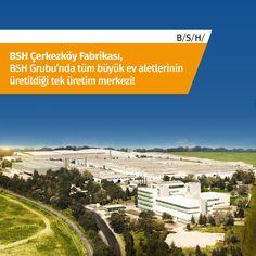 BSH Çerkezköy Fabrikası, BSH Grubu'nda tüm büyük ev aletlerinin üretildiği tek üretim merkezi! #BSH #ArGe > http://arge.bsh-group.com.tr/