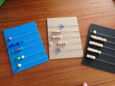 Piano practice abacus... directions on how to make and use this. It's a BRILLIANT idea.