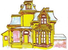 victorian home cartoon - Google Search