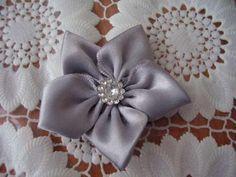 Jednoduchý, rýchly a pekný kvietok-fotopostup Easy tutorial - ribbon flower