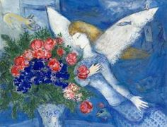 Marc Chagall -Blue Angel (1887 - 1985)