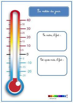 L'outil du jour : le thermomètre effaçable pour le relevé de température