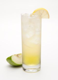 Irish Apple Sour     1 part Jameson® Whiskey     1½ parts Sour Apple Schnapps     5 parts Ginger Ale    Serve over ice in tall glass, garnish with lemon wedge.