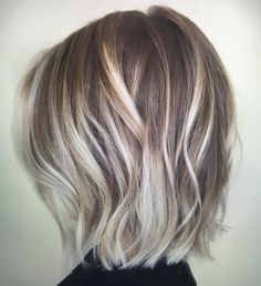 Pretty everyday hairstyles for short hair - balayage bob ash blonde balayage short, medium ash Blond Ash, Dark Brunette, Cool Ash Blonde, Summer Brunette, Blonde Balayage Bob, Baylage Short Hair, Ash Blonde Balayage Short, Bob Haircut For Fine Hair, Medium Haircut Thin Hair