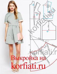 neoprene dress pattern