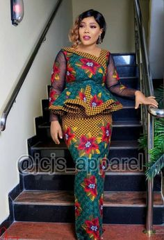 Best African Dresses, African Lace Styles, African Fashion Ankara, Latest African Fashion Dresses, African Attire, African Fashion Traditional, African Print Dress Designs, Africa Fashion, Peplum