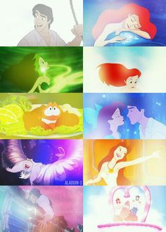 The Little Mermaid. My all time favorite Disney princess movie!