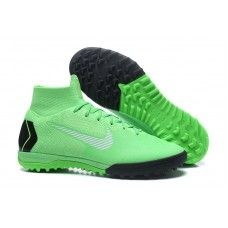 Botas de futbol Nike SuperflyX 6 Elite TF MD Verde Negro 1eeddacb7a73e