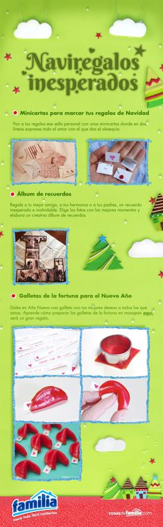 Naviregalos inesperados / Pines inesperados Familia®.