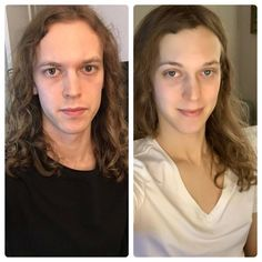 Today marks 5 months on HRT. Am I a girl yet? Transgender Transformation, Male To Female Transformation, Male To Female Transgender, Transgender Mtf, Transgender Before And After, Mtf Transition, Brave Women, Pictures Of People, Gorgeous Women