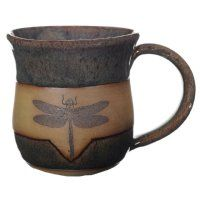 Dragonfly mug, I bought this at the renfair...