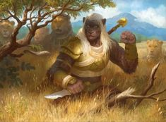 Play Your Next 5E D&D Game as a Pride Warrior Leonin – Nerdarchy