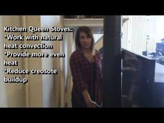 How-to light you're new Kitchen Queen Wood Cook Stove. Learning to light a wood cook stove. This video will show information on lighting your Kitchen Queen f. Wood Stove Cooking, Kitchen Queen, Water Heating, New Kitchen, Burns, Lighting, Lights, Lightning