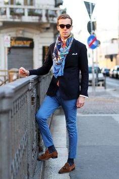 MenStyle1- Men's Style Blog - Men's Scarf Inspiration. Elevator Shoes | Follow...